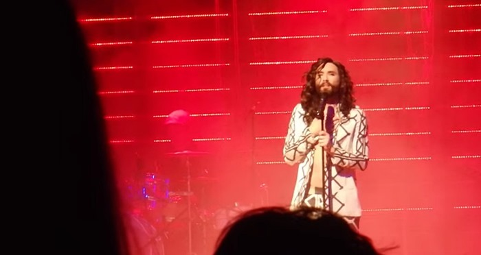 Conchita, The Jacket, the Nipple, the Singing and that Adorable Grin -- Hell, I Wish I'd Gone to Ybbs (Video)