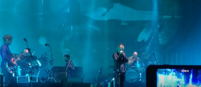 Radiohead's rocking performance of 'Creep' at Coachella was despite terrible sound problems that plagued the band.
