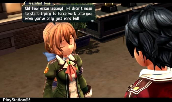 PC version of The Legend of Heroes: Trails of Cold Steel