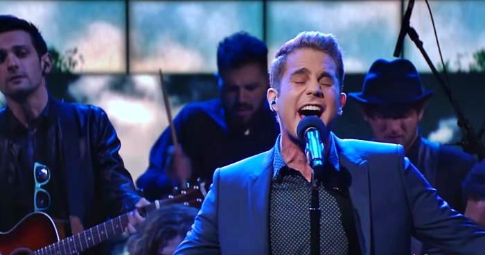 Watch Ben Platt perform an emotional 'For Forever' on 'Stephen Colbert' (video)