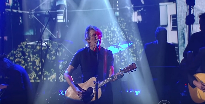 Roger Waters' voice in 'Deja Vu' on Stephen Colbert is richer and sweeter than ever