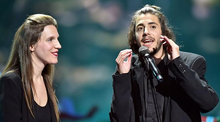 Portugal's Salvador and Luísa Sobral singing Eurovision song 'Amar Pelos Dois' sweetest winning performance ever