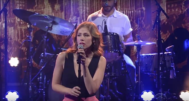 Lake Street Dive give rocking performance of 'Close To Me' on Stephen Colbert — Watch