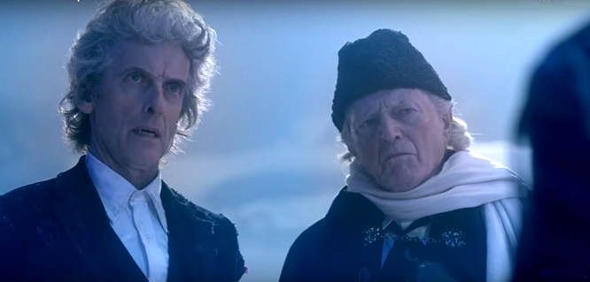 Doctor Who Christmas Special 2017 reunites 1st and 12th Doctors