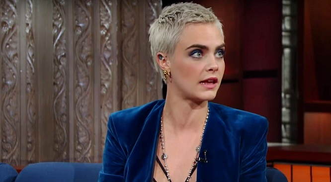 Cara Delevingne acted 90% of 'Valerian and the City of a Thousand Planets' with blue screens