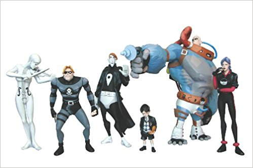 How much is The Umbrella Academy 6-piece figurine set? Yikes! That much?