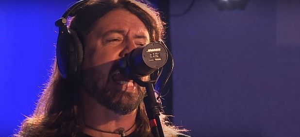 Watch Foo Fighters' cool performance of 'Best of You' for BBC Radio 1 Live Lounge