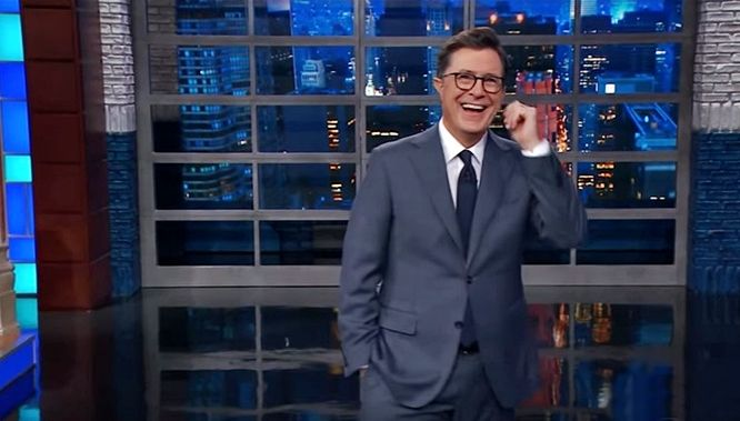 Stephen Colbert asks did Tillerson call Trump a moron or a f*cking moron? (video)
