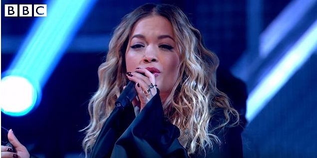 Rita Ora's Sounds Like Friday Night 'Anywhere' performance is lovely