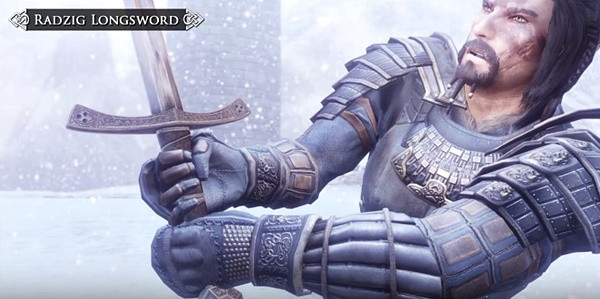 Skyrim mod Signature Equipment lets weapons and armor scale