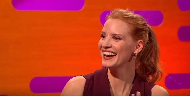 Jessica Chastain's best moments on Graham Norton are hilarious