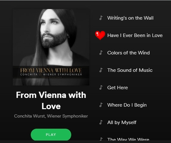 Conchita's 'Have I Ever Been In Love' the third single from 'From Vienna With Love'? Here's hoping, it's gorgeous