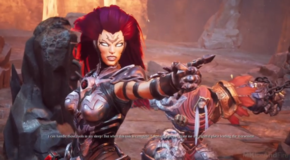 Best Darksiders III walkthrough is full game in 1080P HD on PC and with no commentary