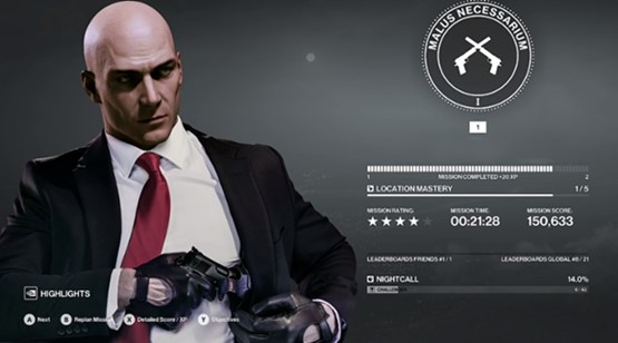 This Hitman 2 (2018) walkthrough shows complete game in just 4 1/2 hours