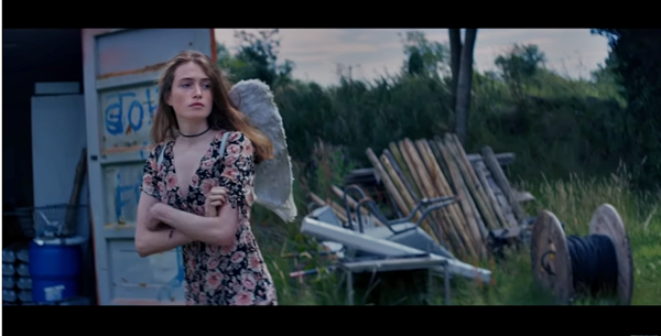 screenshot from Freya Ridings song 'Maps' as featured on The Resident