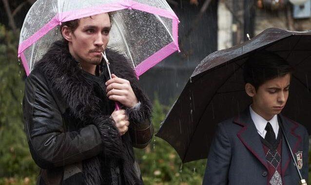 Klaus in the new Netflix series The Umbrella Academy