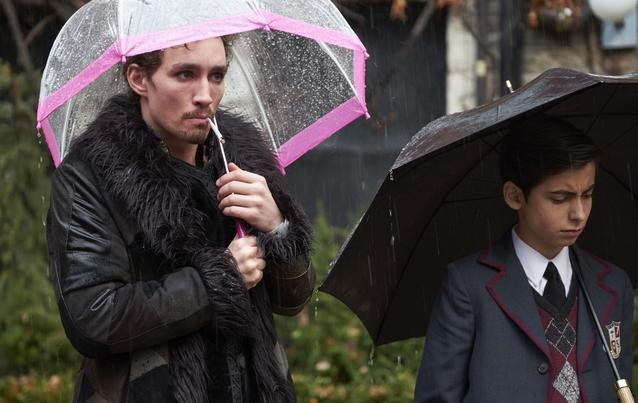 Klaus from the new Netflix series The Umbrella Academy