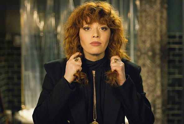 Natasha Lyonne as Nadia in 'Russian Doll'