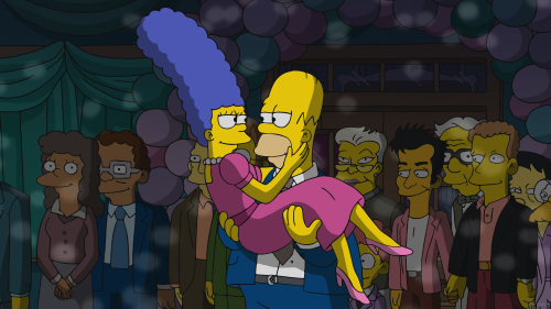 "Listen to Dave Matthews Band song 'That Girl Is You' from The Simpsons ""Dancing As Fat As I Can"""