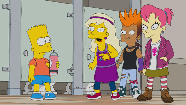 "Listen to Moby's 'Extreme Ways' from The Simpsons ""Bart vs Itchy & Scratchy"""