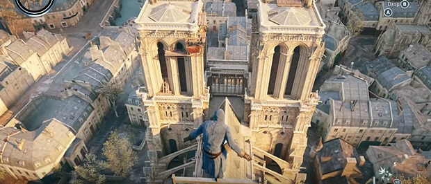 Watch Assassin S Creed Unity Notre Dame Segment To See Intricate