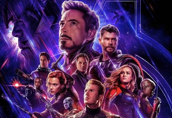 Avengers: Endgame artwork movie poster