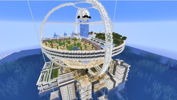 How To Build An Epic Minecraft Base In Survival Mode Via Mumbo Jumbo Video