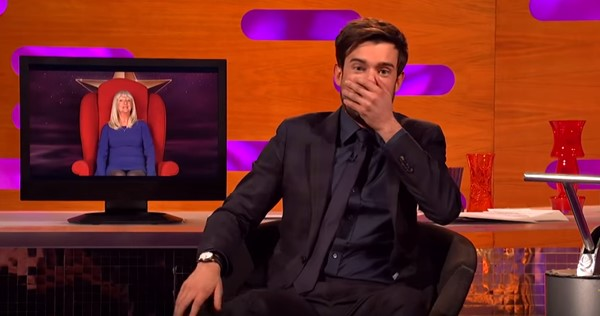Jack Whitehall's red chair guest shocks him while hosting Graham Norton Show