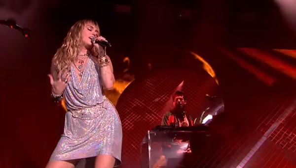 Miley Cyrus and Mark Ronson Radio 1's Big Weekend