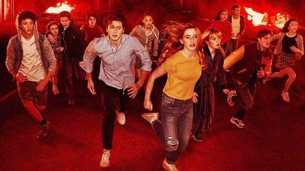 Netflix's The Society cast