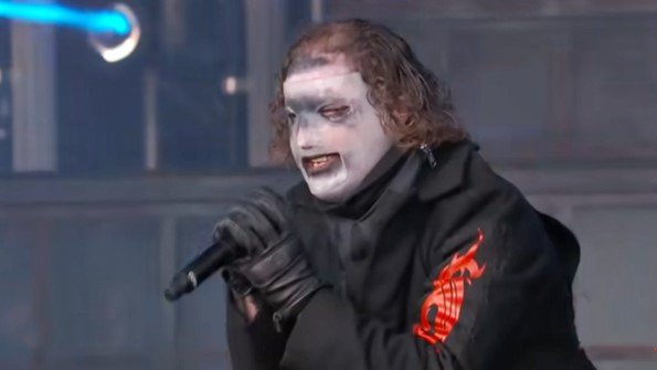 Watch Slipknot's high energy performance of 'Unsainted' and 'All Out of Life' on Jimmy Kimmel Live