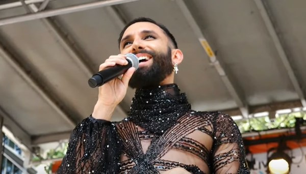 Conchita WURST celebrates World Pride in New York and meets with U.N. LGBTI Core Group
