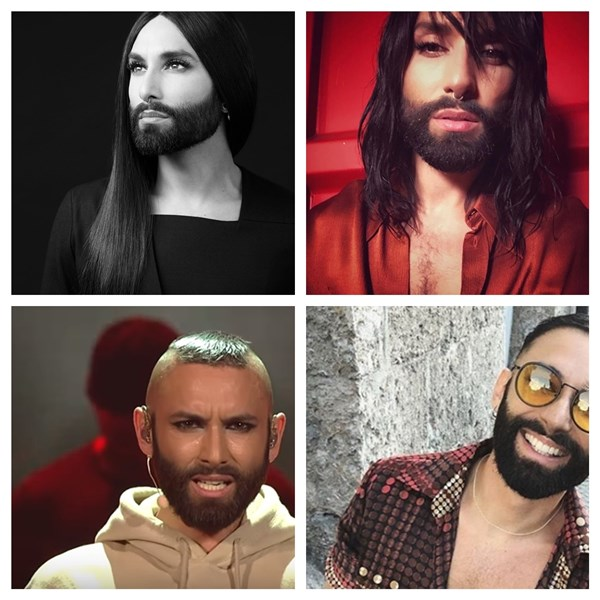 From Conchita to WURST -- the metamorphosis of Tom Neuwirth (who is still hiding)