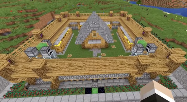 How to make a Minecraft safe house with perfect security systems