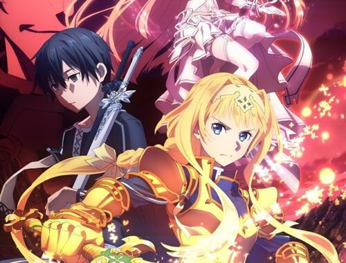 Sword Art Online: Alicization -- War of the Underworld visual