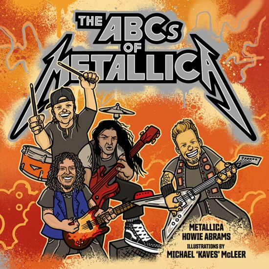 The ABCs of Metallica, the heavy metal band's children's book hits stores in November