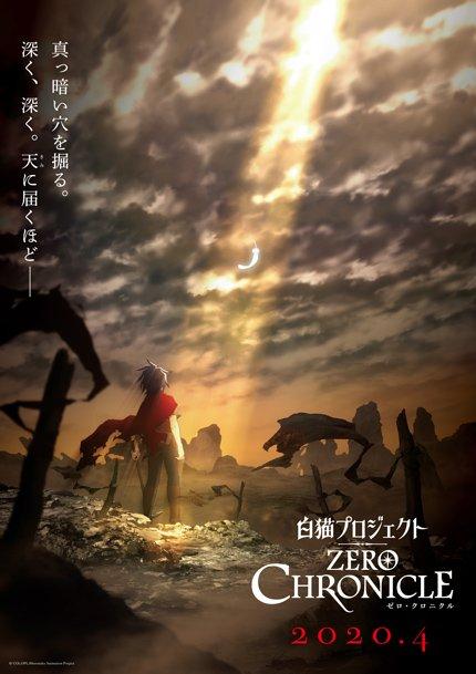 Zero Chronicle anime series based on Shironeko Purojekuto 3rd anniversary event storyline coming April, 2020