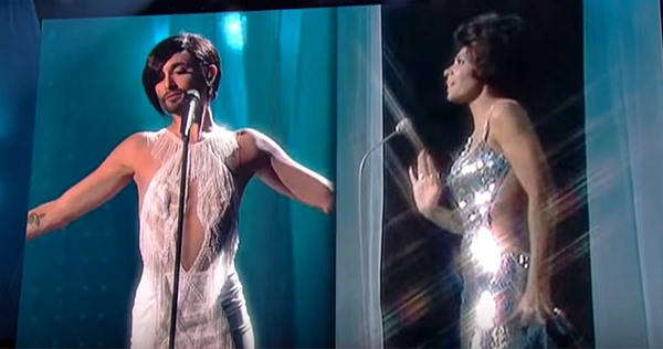 Conchita Wurst's 'Diamonds are Forever' with Shirley Bassey --  Conchita WURST's Top 40 Best Live Performances (#34)