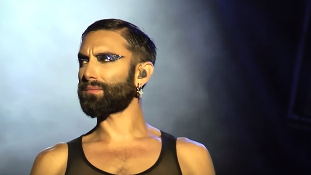 Conchita Wurst 'Pure' at World Bodypainting Festival, 2019 — WURST's Top 40 Best Live Performances (#40)