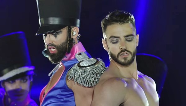Conchita WURST's 'Hit Me' live at Life Ball 2019 — Conchita WURST's Top 40 Best Live Performances (#33)