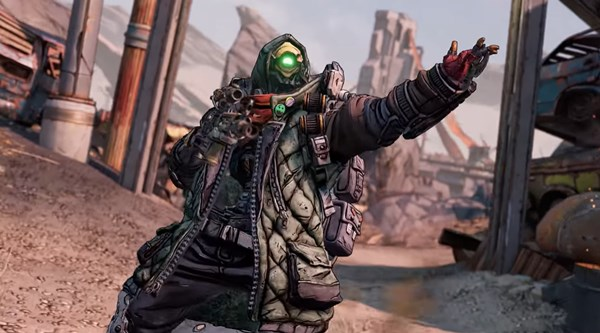 FL4K, Borderlands 3's non-binary Vault Hunter, gets a trailer -- and he looks and sounds cool (video)