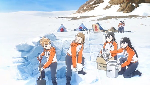 A Place Further Than The Universe opening song 'The Girls Are Alright' is cool — Best Anime Songs