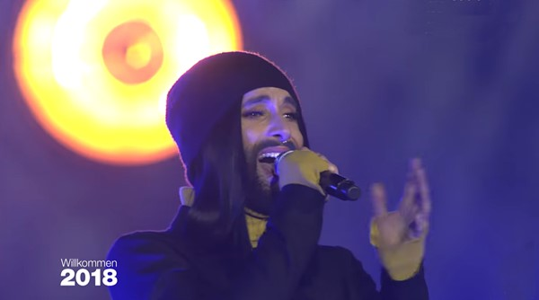 Conchita's 'This Is Me' at Berlin's Brandenburg Gate — Conchita WURST's Top 40 Best Live Performances (#22)