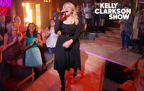 Watch Kelly Clarkson sing Lady Gaga's 'Bad Romance' on The Kelly Clarkson Show — she rocks it, literally