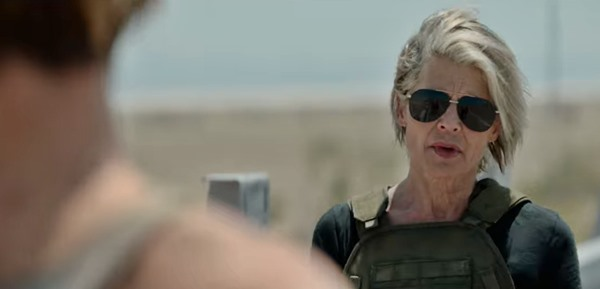 Watch the 'Terminator: Dark Fate' trailer — it's action-packed and features Linda Hamilton