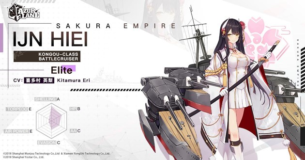 Azur Lane The War God's Return trailer shows Battleship Mikasa and Battlecruiser Hiei in all their glory