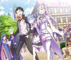 Cute Re:ZERO – Starting Life in Another World – The Prophecy of the Throne key visual released