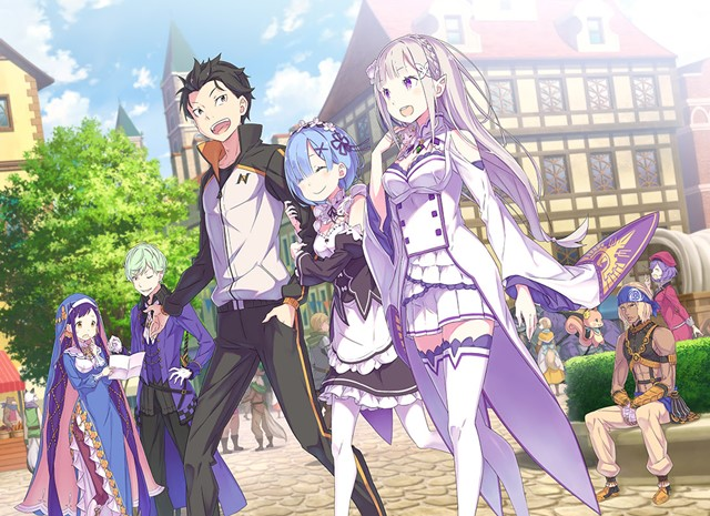 Cute Re Zero Starting Life In Another World The Prophecy Of The Throne Key Visual Released Leo Sigh