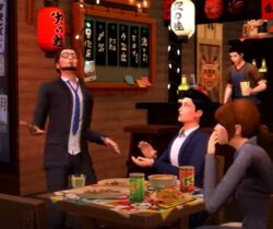 Sims 4: Snowy Escape is The Sims in Japan with onsen, kotatsu tables and cherry blossoms